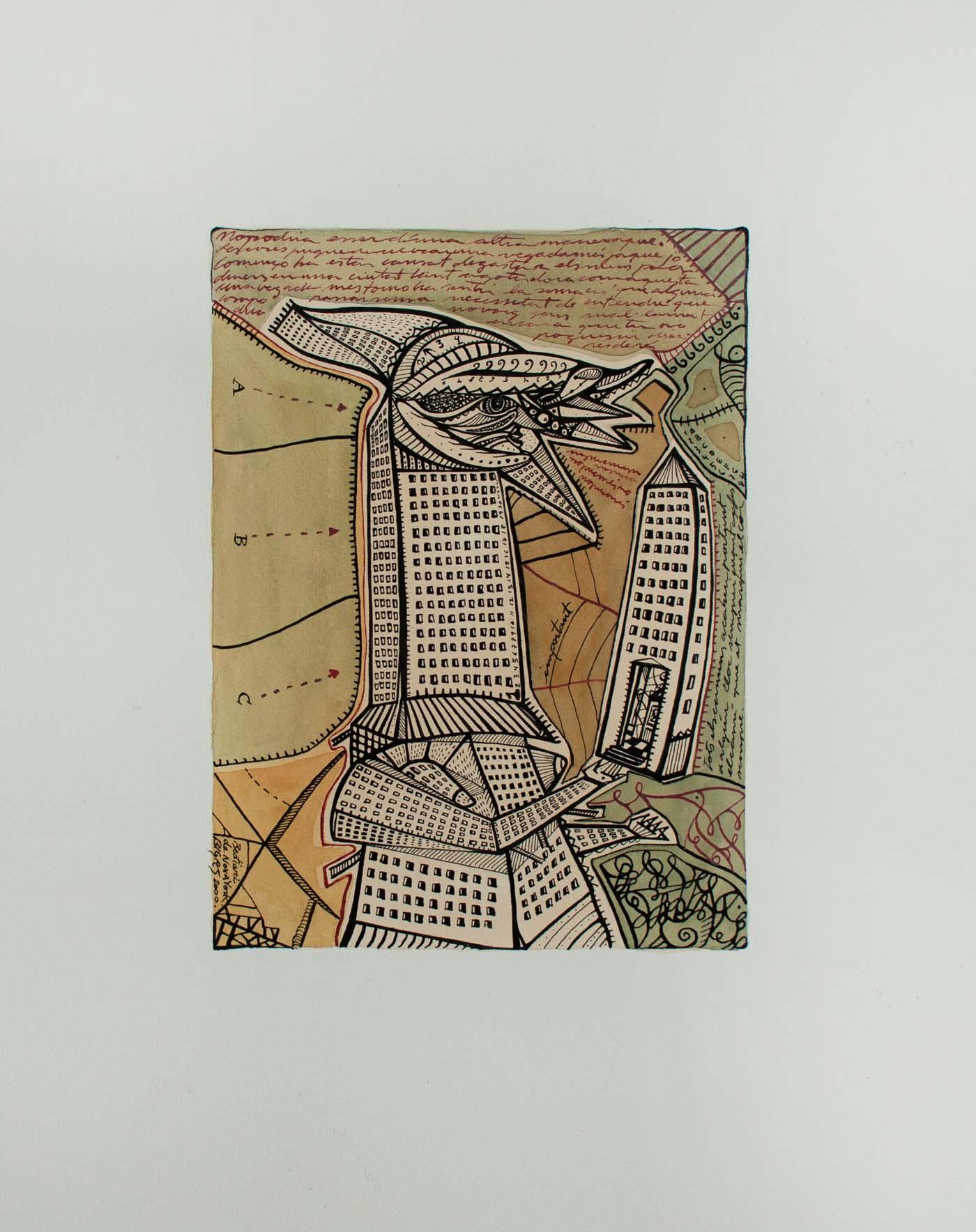 N. Y. Bestiarium, Metropolis. 2000